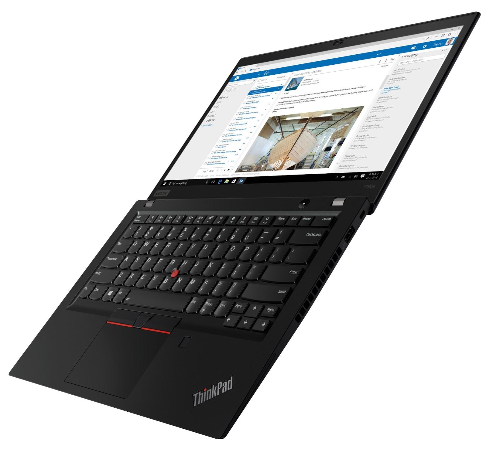 Фото 4. Ноутбук Lenovo ThinkPad T490s (20NX003NRT)