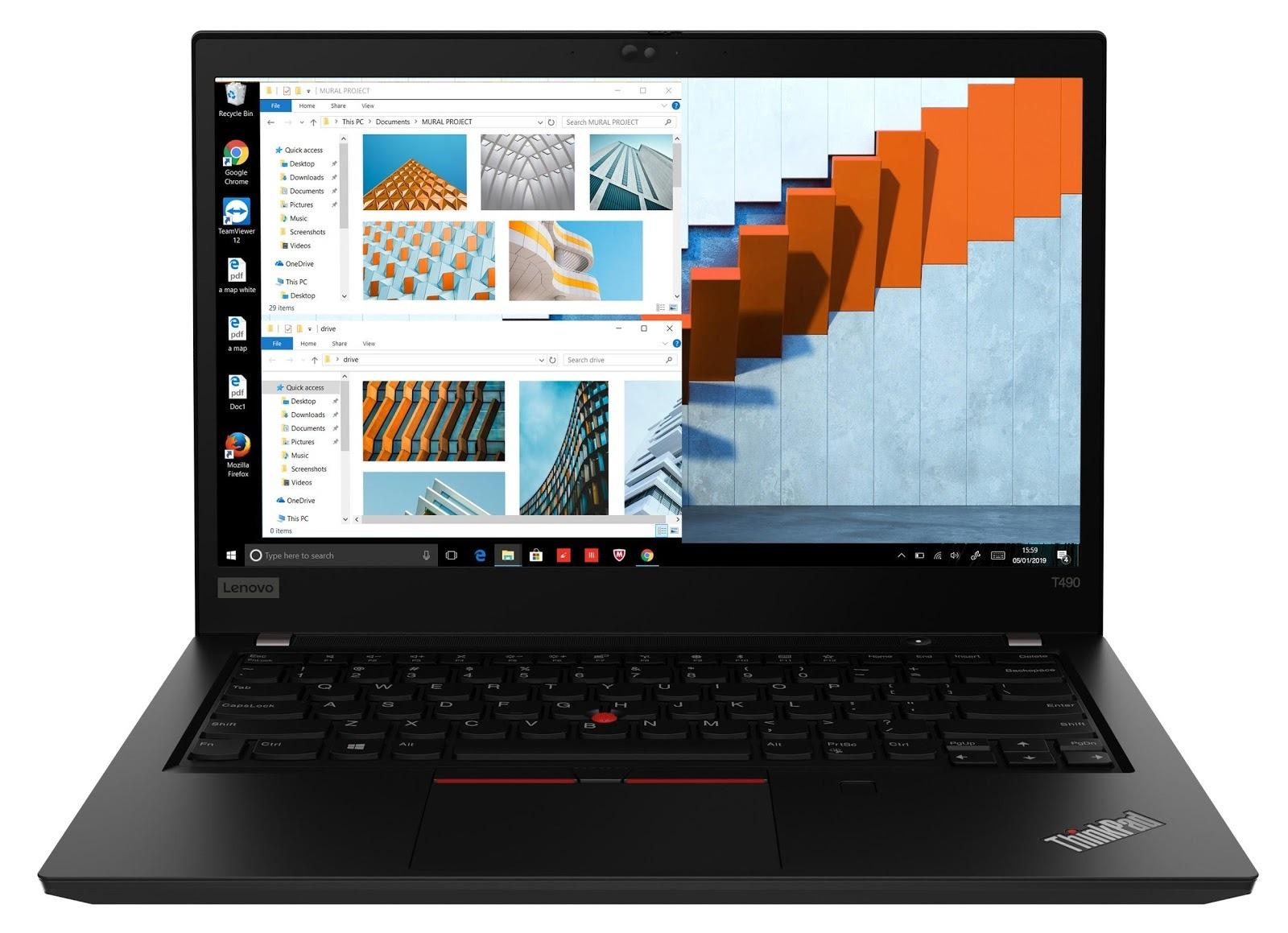 Фото 1. Ноутбук Lenovo ThinkPad T490 Black (20N2000CRT)