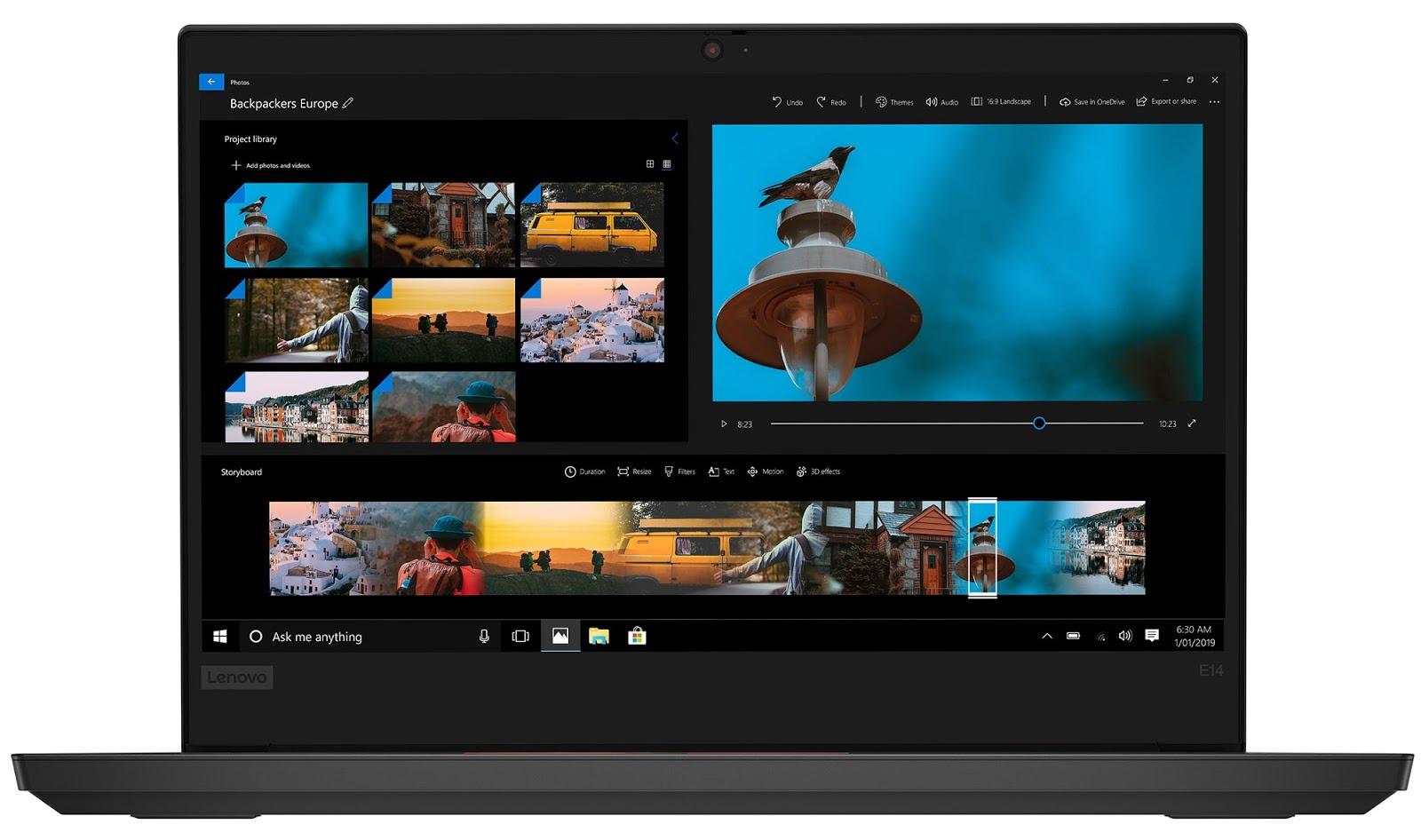 Фото 1. Ноутбук Lenovo ThinkPad E14 (20RA001LRT)