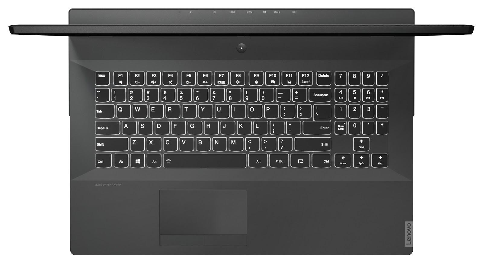 Фото 5. Ноутбук Lenovo Legion Y540-17IRH Raven Black (81Q400FKRE)