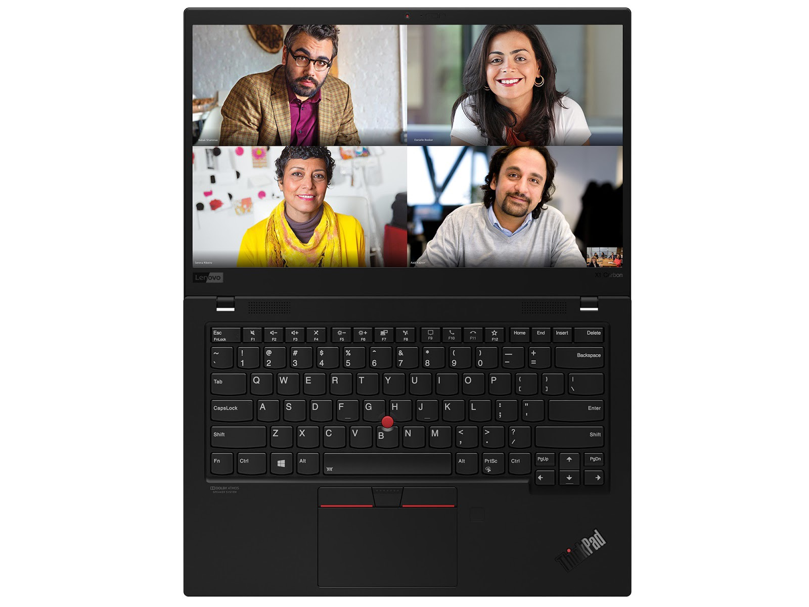 Фото 2. Ноутбук Lenovo ThinkPad X1 Carbon Gen 8 Black (20U90001RT)