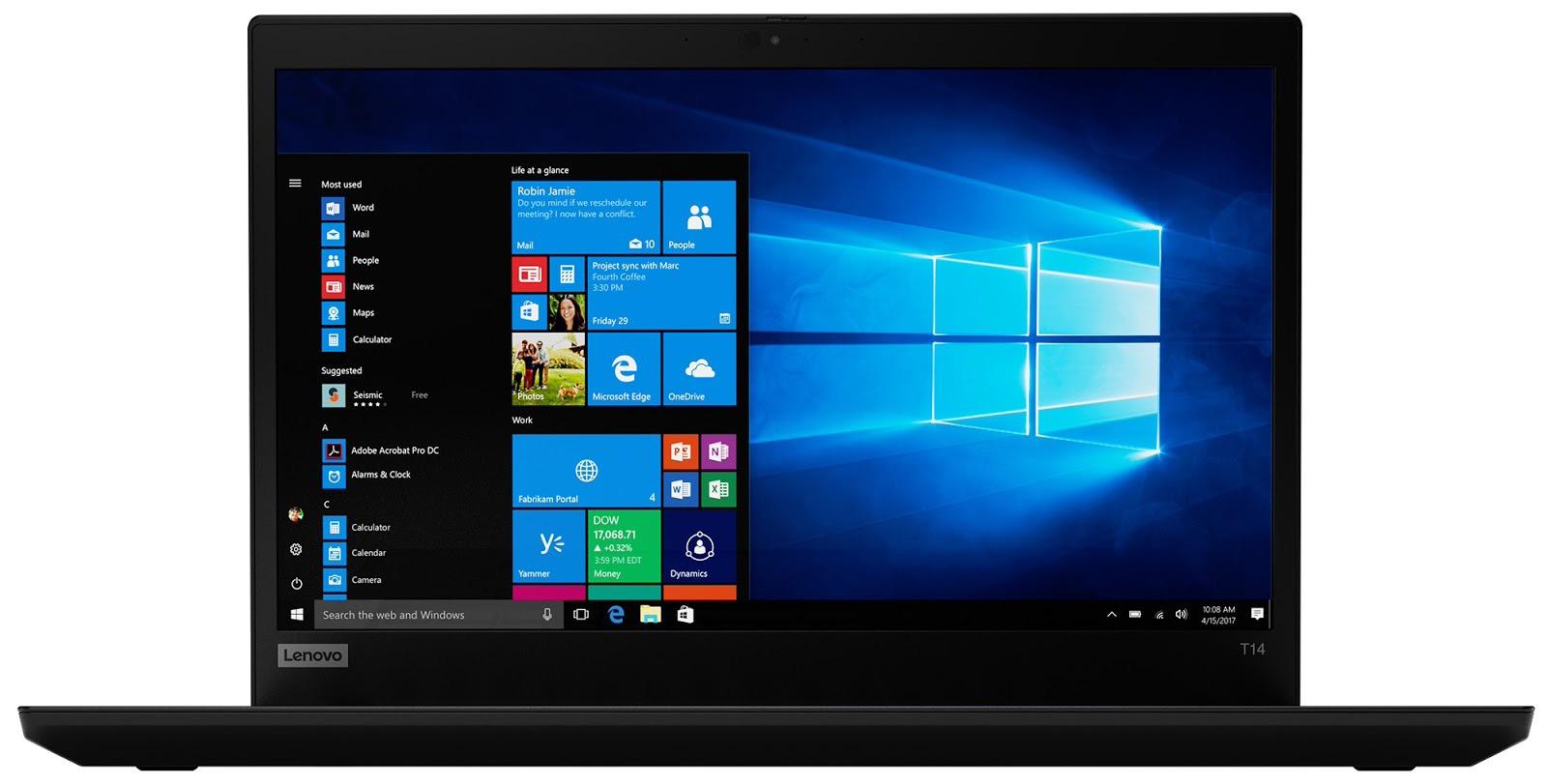 Фото 3. Ноутбук Lenovo ThinkPad T14 Gen 1 Black (20S0000MRT)