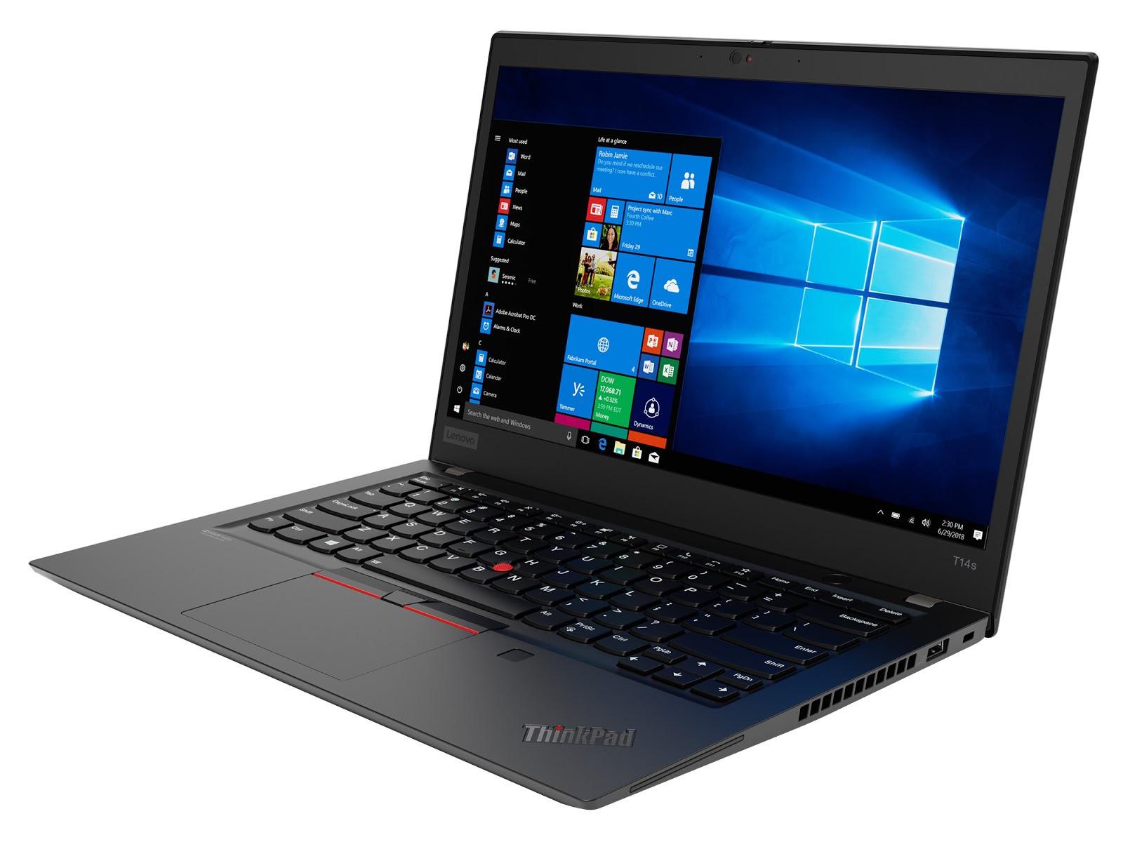 Фото 2. Ноутбук Lenovo ThinkPad T14s Gen 1 Black (20T0001CRT)