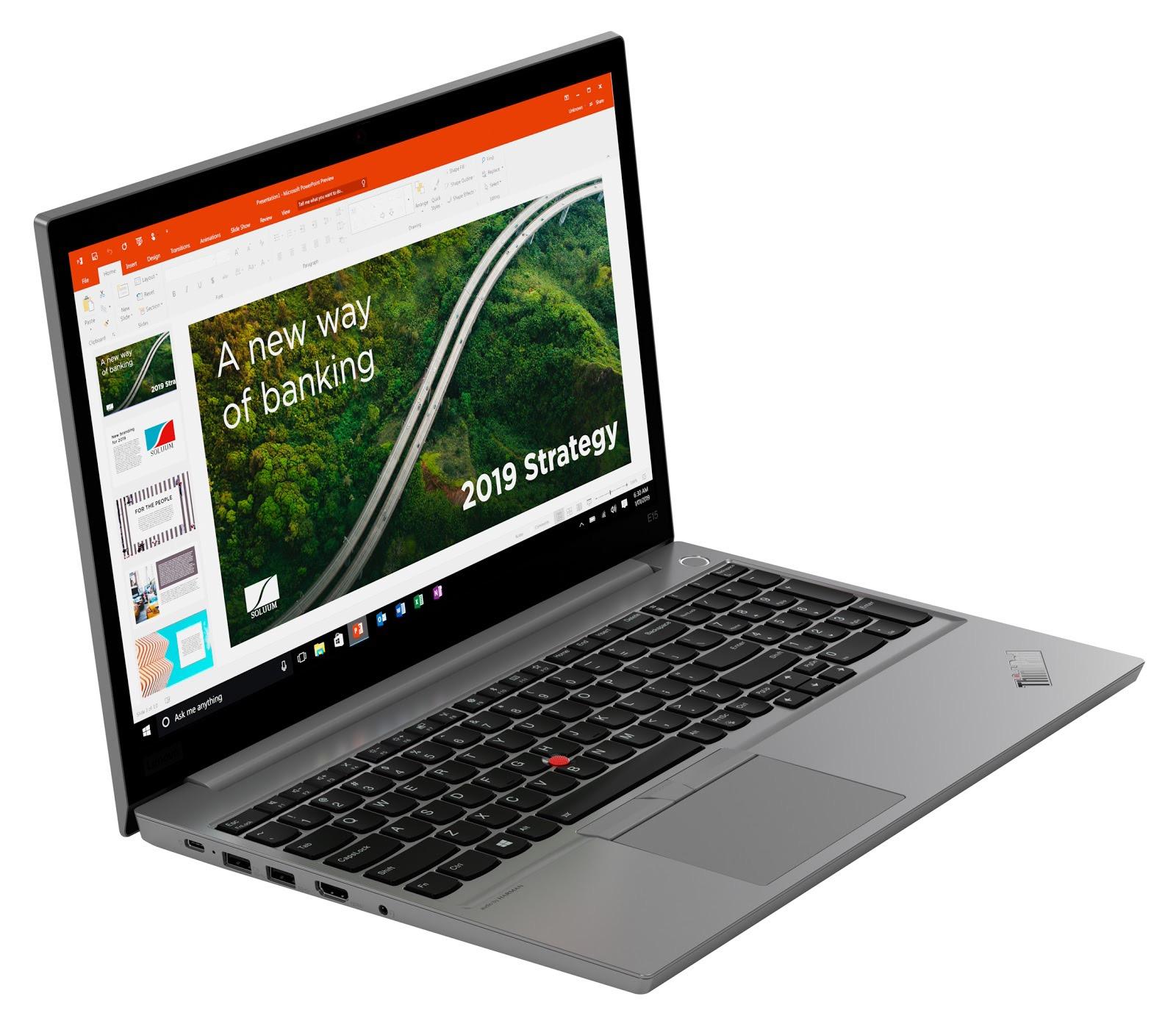 Фото 2. Ноутбук Lenovo ThinkPad E15 Silver (20RD001GRT)