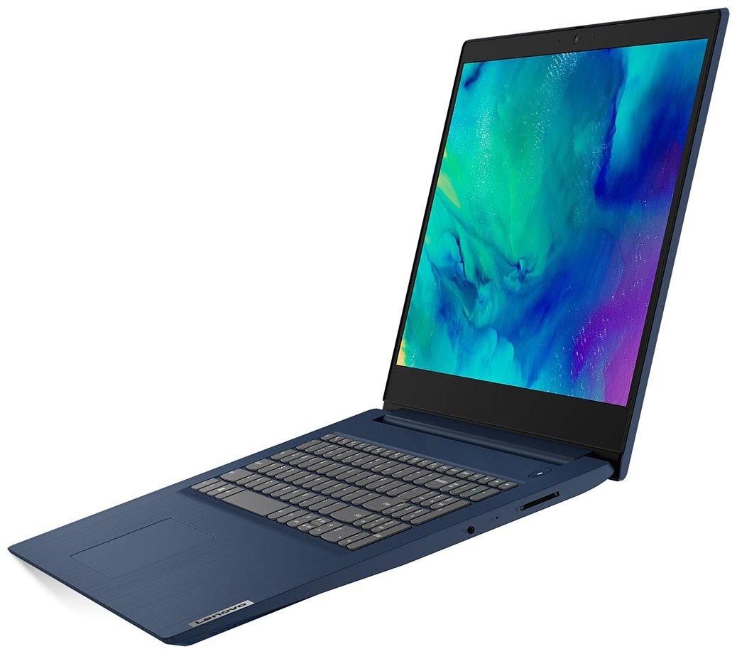 Фото 1. Ноутбук Lenovo ideapad 3 17IML05 Abyss Blue (81WC0011RE)