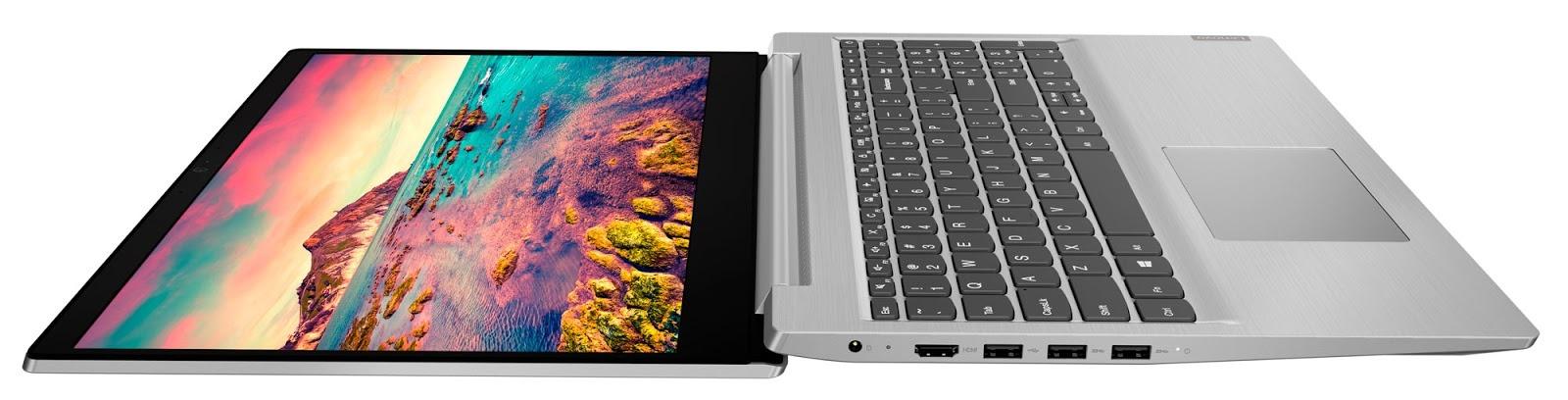 Фото 2. ноутбука ideapad S145-15API Platinum Grey (81UT00MLRE)