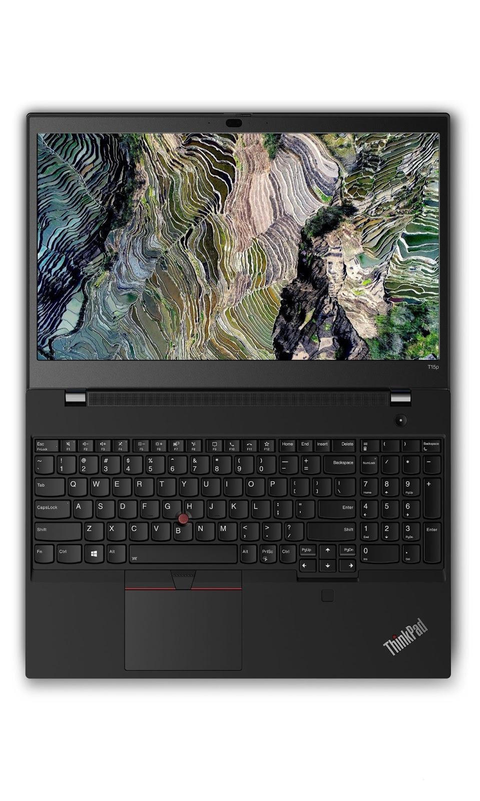 Фото 1. Ноутбук Lenovo ThinkPad T15p Gen 1 Black (20TN001RRT)