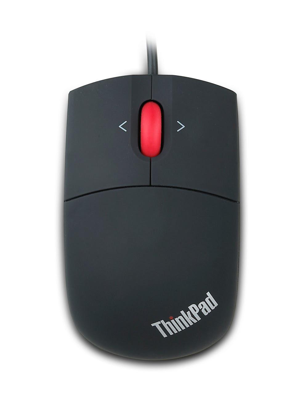 Фото 1. Мышь Lenovo ThinkPad USB Laser Mouse (57Y4635)