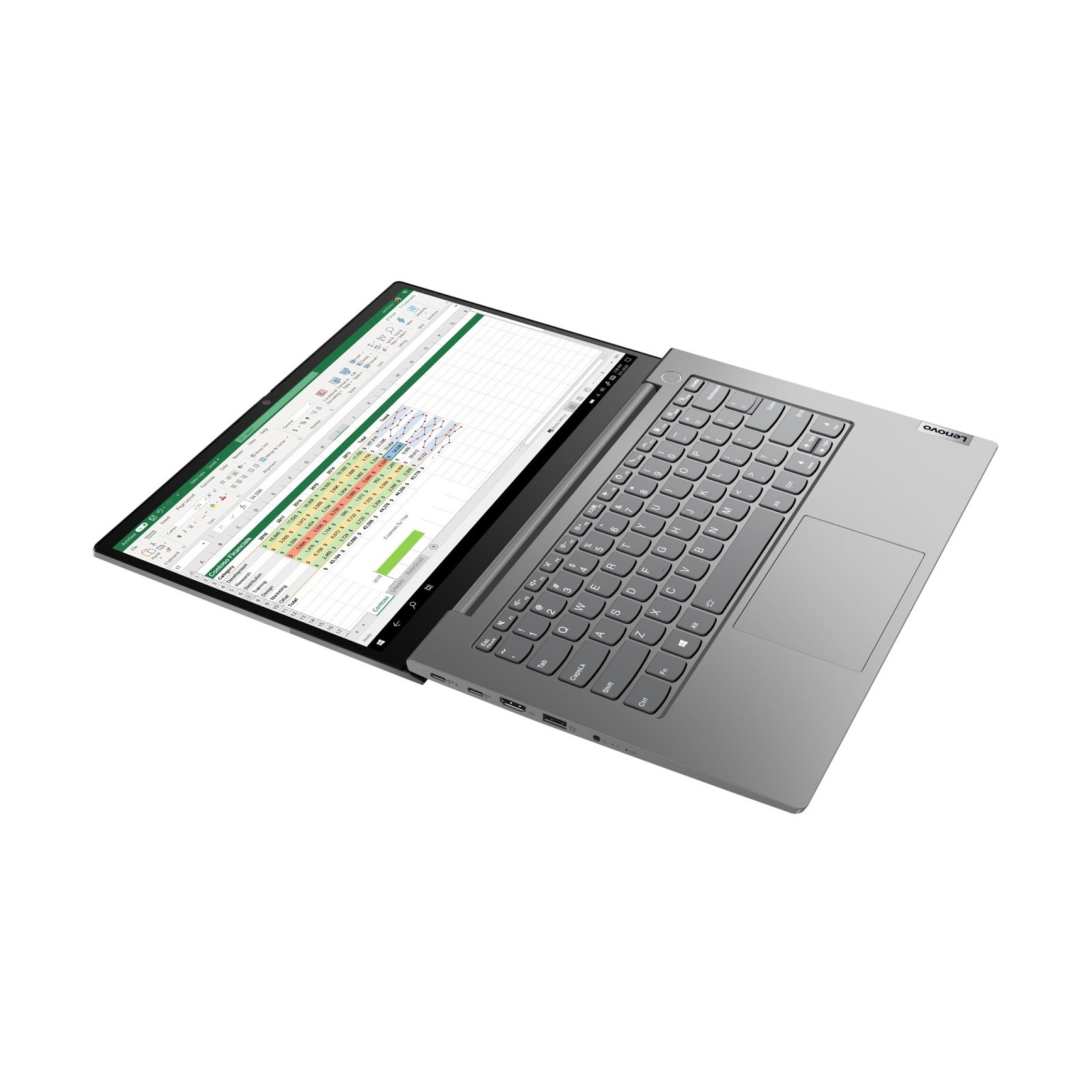 Фото 3. Ноутбук Lenovo ThinkBook 14 Gen 2 ITL Mineral Grey (20VD000BRU)