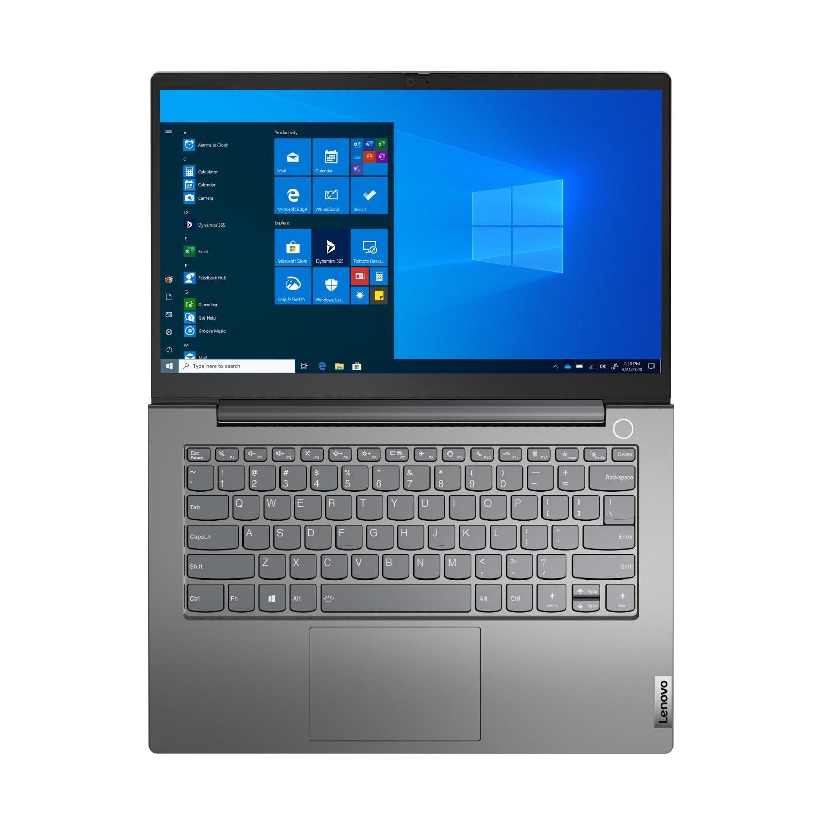 Фото 4. Ноутбук Lenovo ThinkBook 14 Gen 2 ITL Mineral Grey (20VD000BRU)