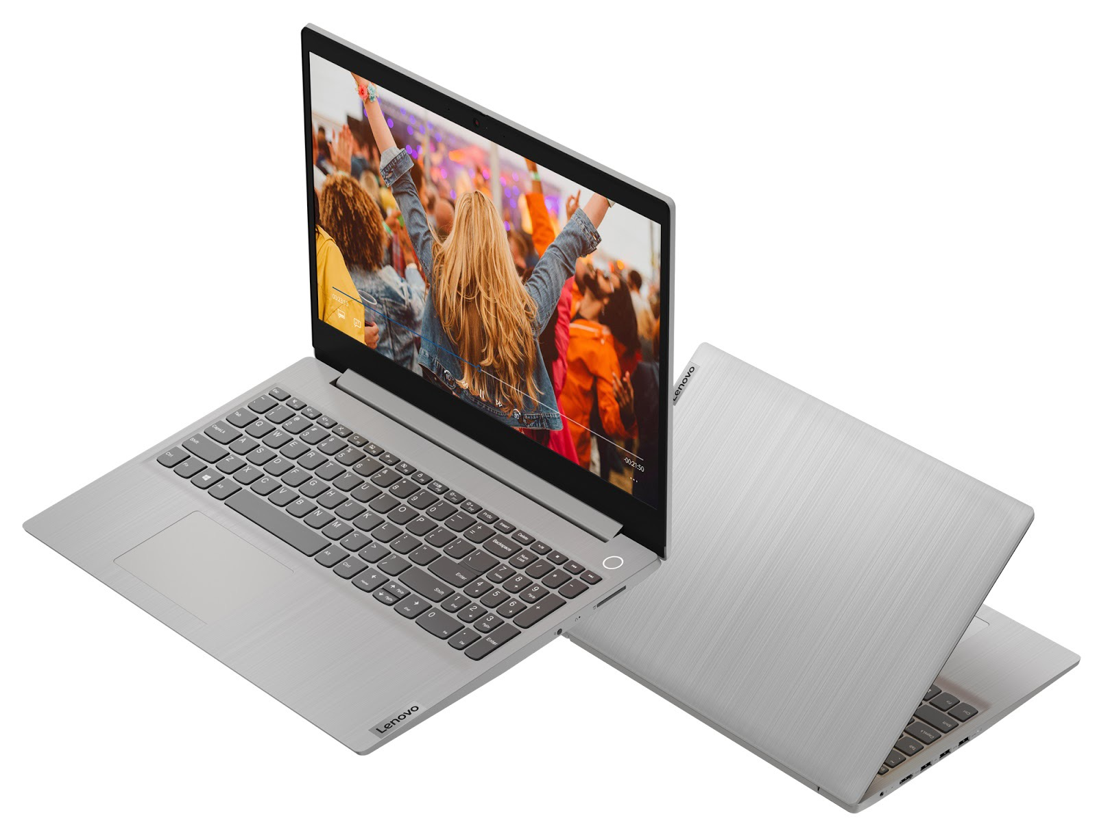 Фото 3. Ноутбук Lenovo ideapad 3 15ADA05 Platinum Grey (81W100TBRE)