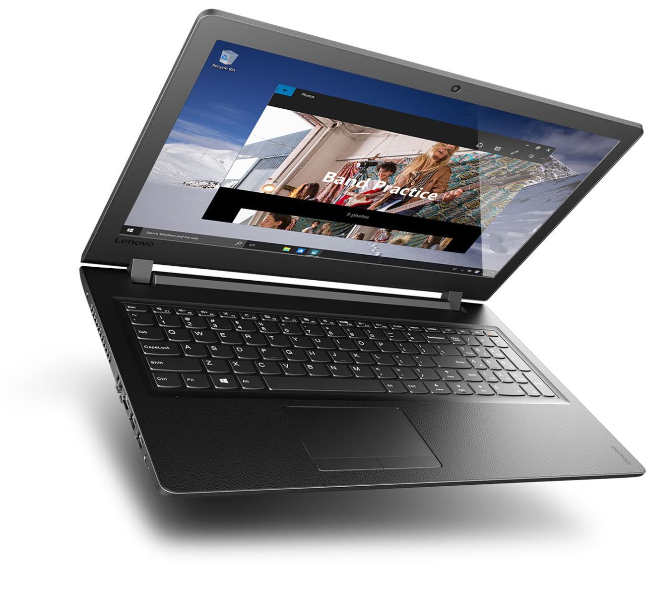 Фото  Ноутбук Lenovo ideapad 110-15IBR Black Texture (80T7004QRA)