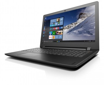 Фото 1 Ноутбук Lenovo ideapad 110-15IBR Black Texture (80T7004QRA)
