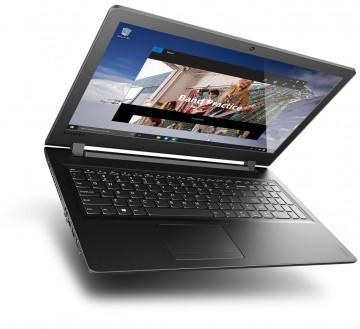 Фото 2 Ноутбук Lenovo ideapad 110-15IBR Black Texture (80T7004QRA)