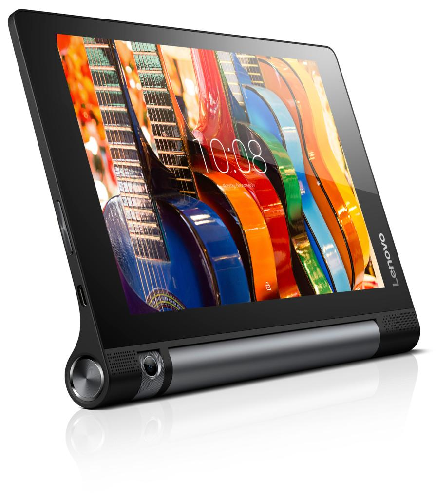 Фото  Планшет YOGA TABLET 3-850 LTE Slate Black (ZA0B0054UA)
