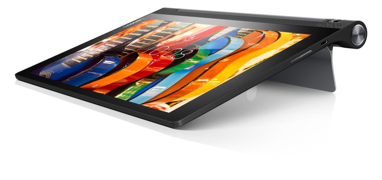 Фото  Планшет YOGA TABLET 3-X50 LTE 16GB Slate Black (ZA0K0025UA)