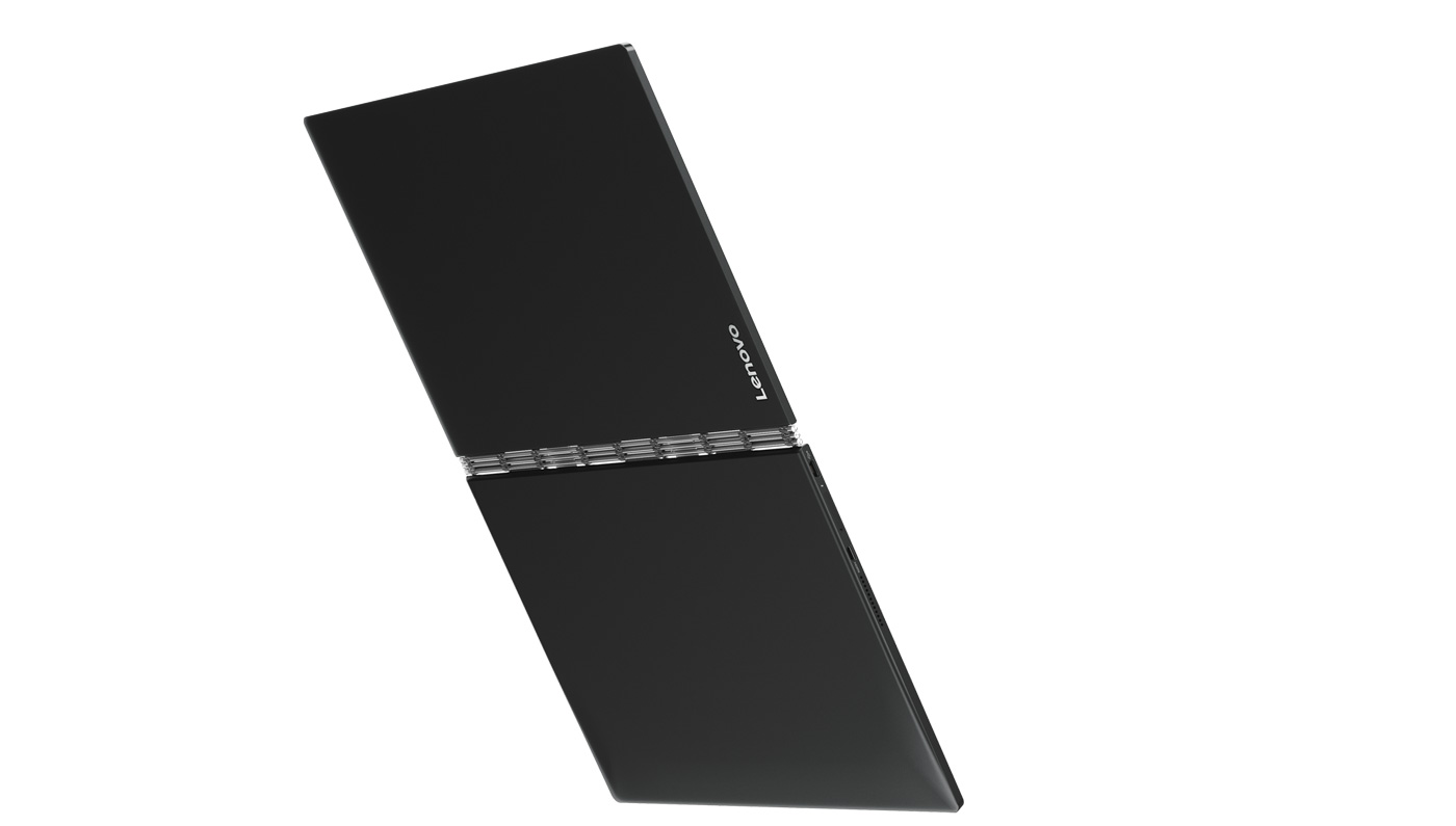 "Фото  Планшет YOGA Book 10"" 128GB LTE Windows Carbon Black (ZA160064UA)"
