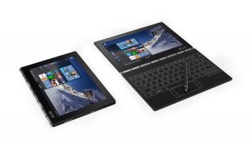 "Фото 2 Планшет YOGA Book 10"" 128GB LTE Windows Carbon Black (ZA160064UA)"