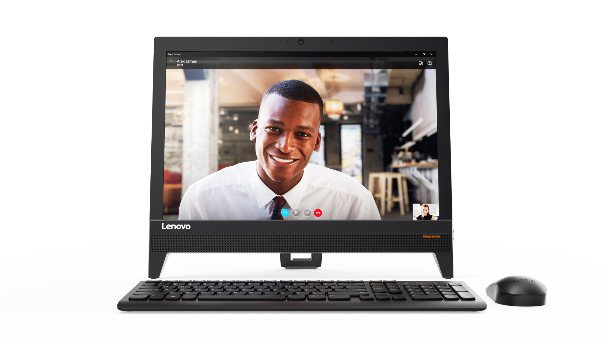 Фото  Моноблок Lenovo ideacentre 310-20 (F0CL0046UA) Black