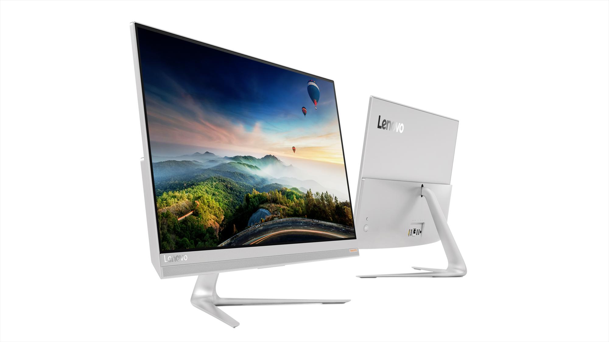 Фото  Моноблок Lenovo ideacentre 520s-23 (F0CU006PUA) Silver