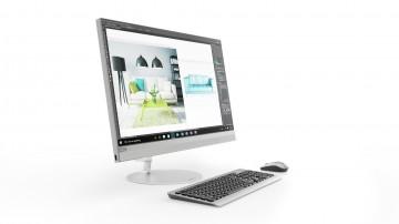 Фото 1 Моноблок Lenovo ideacentre 520-27 (F0D00028UA) Silver