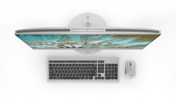Фото 3 Моноблок Lenovo ideacentre 520-27 (F0D00028UA) Silver