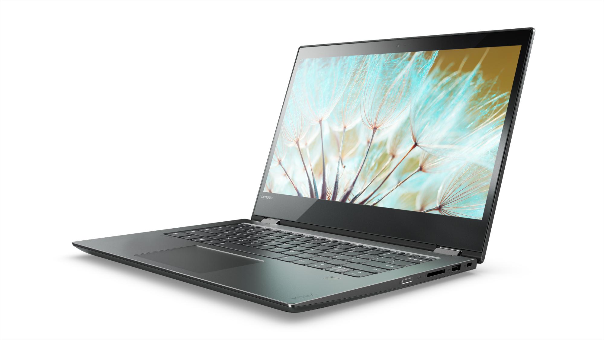 Фото  Ультрабук Lenovo Yoga 520 (81C800DARA) Onyx Black
