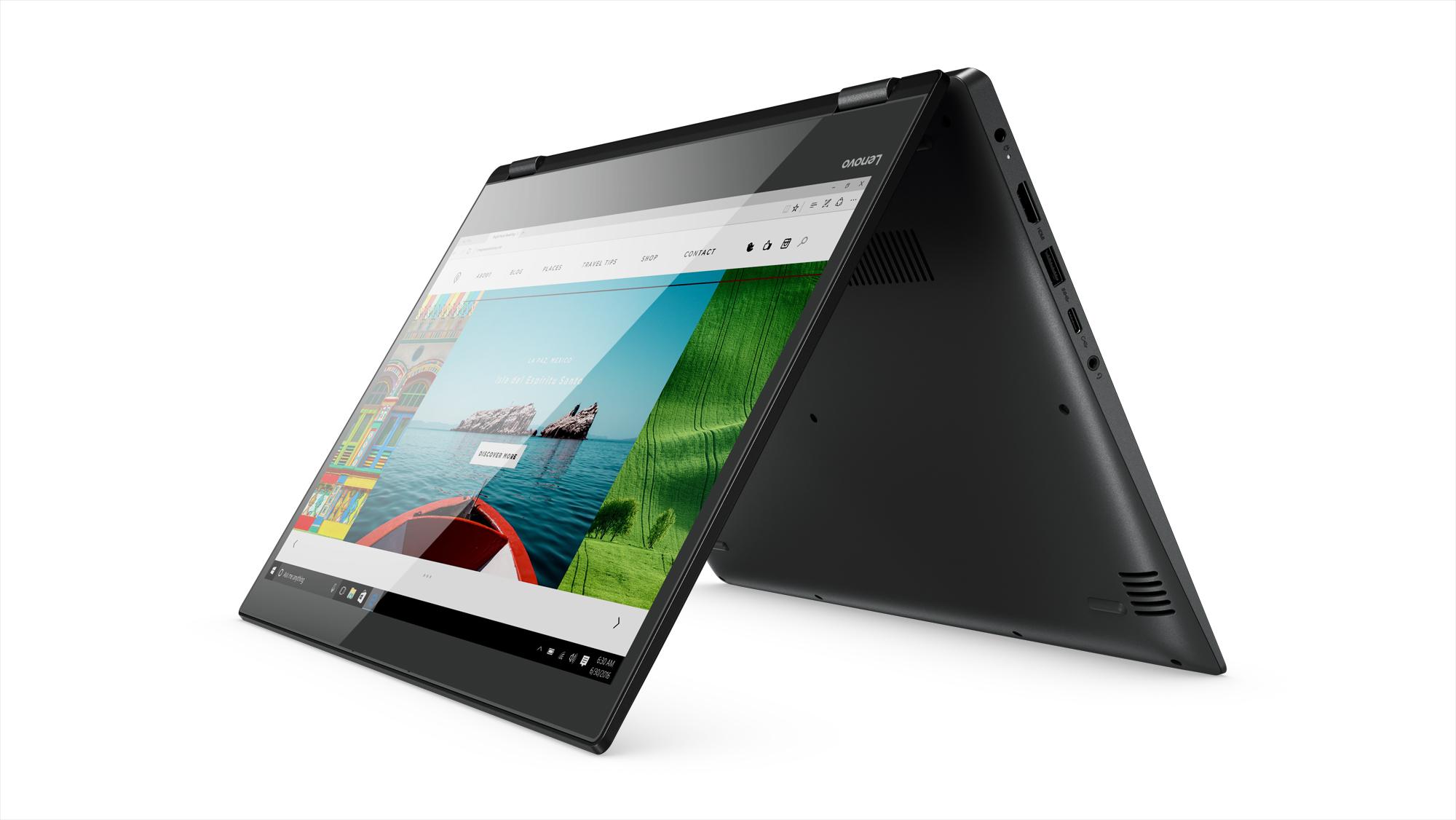 Фото  Ультрабук Lenovo Yoga 520 (81C800DMRA) Onyx Black
