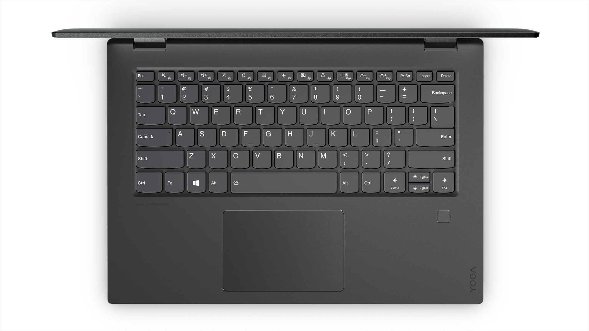 Фото  Ультрабук Lenovo Yoga 520 (81C800DFRA) Onyx Black