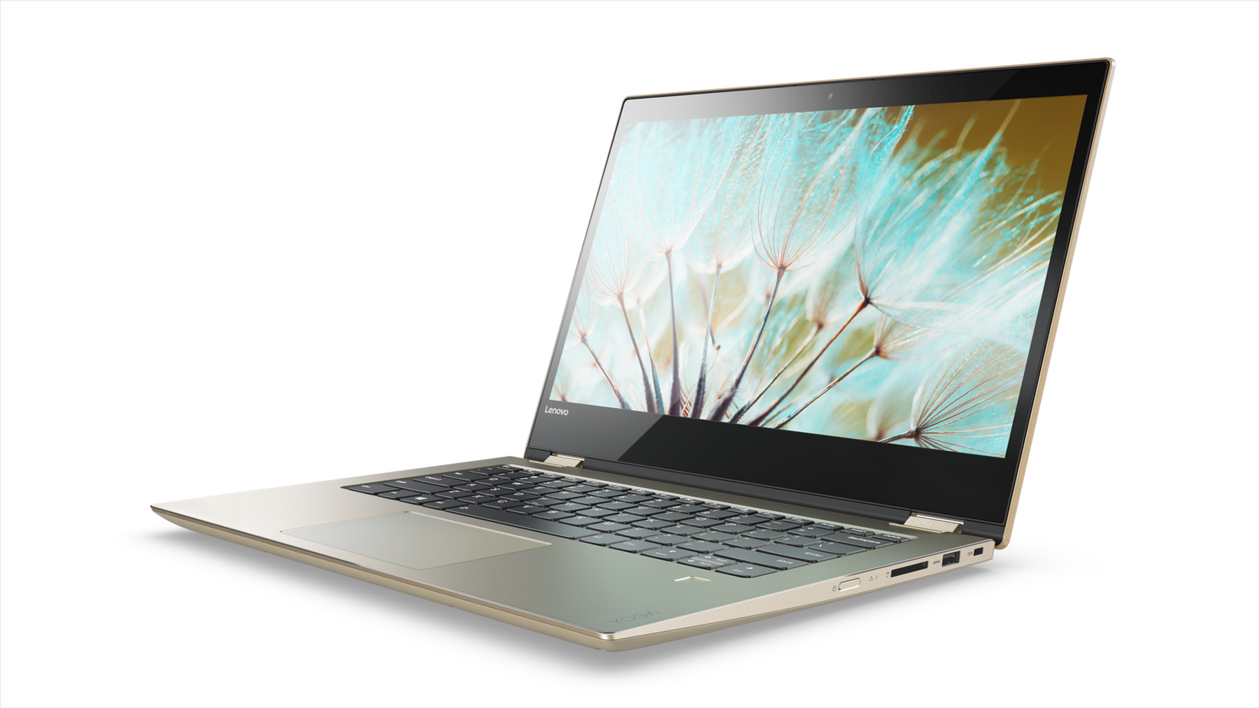 Фото  Ультрабук Lenovo Yoga 520  Gold Metallic (81C800DGRA)