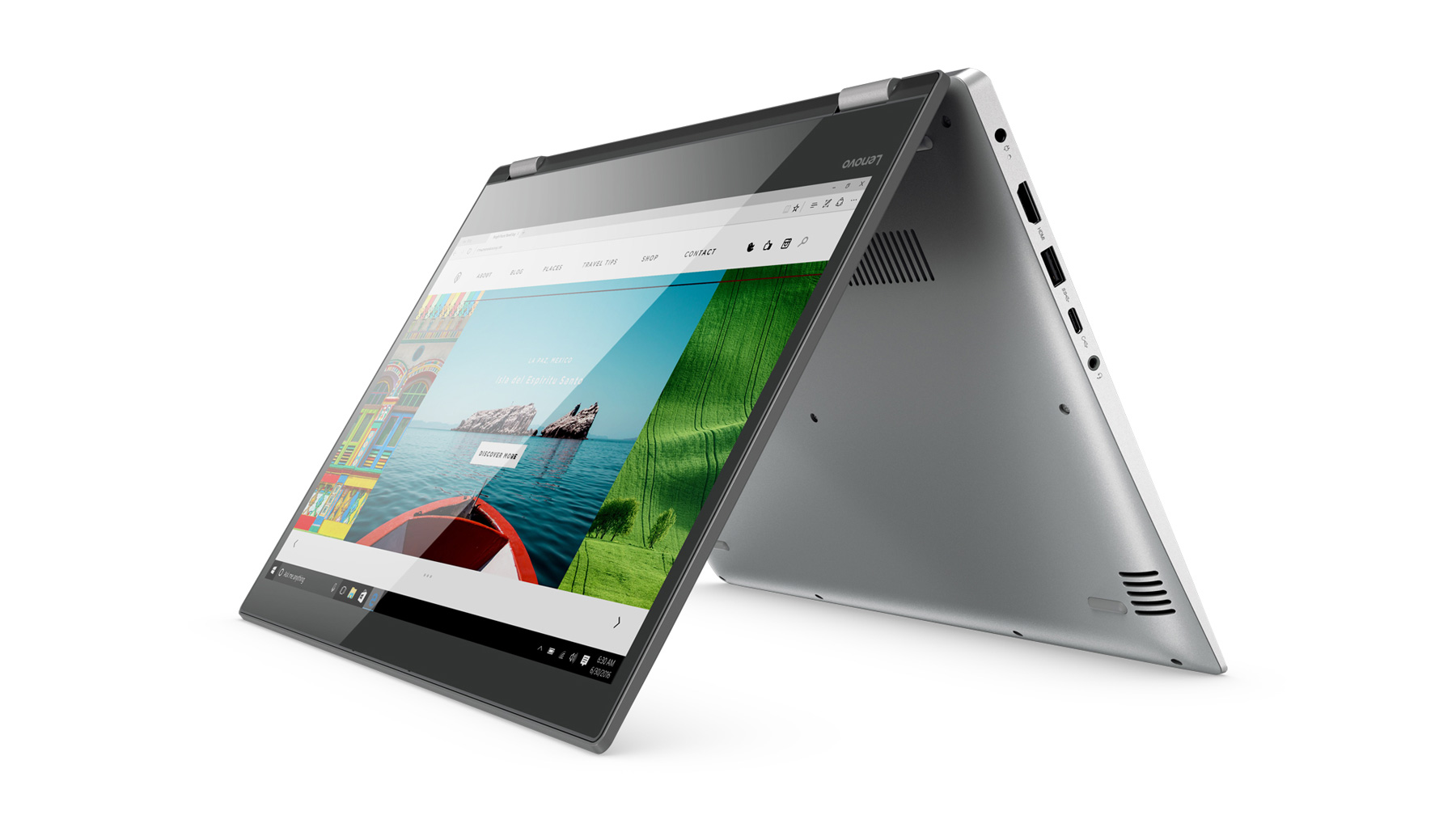 Фото  Ультрабук Lenovo Yoga 520 Mineral Grey (81C800DERA)