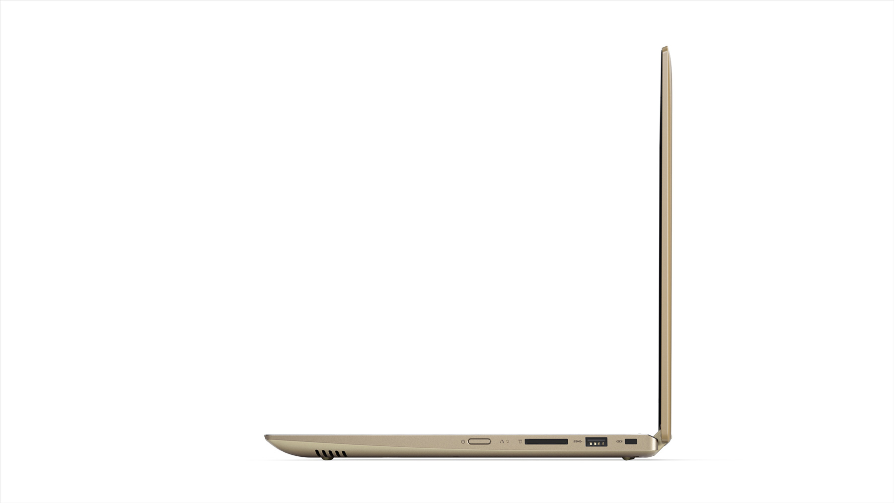 Фото  Ультрабук Lenovo Yoga 520 (81C800DDRA) Gold Metallic