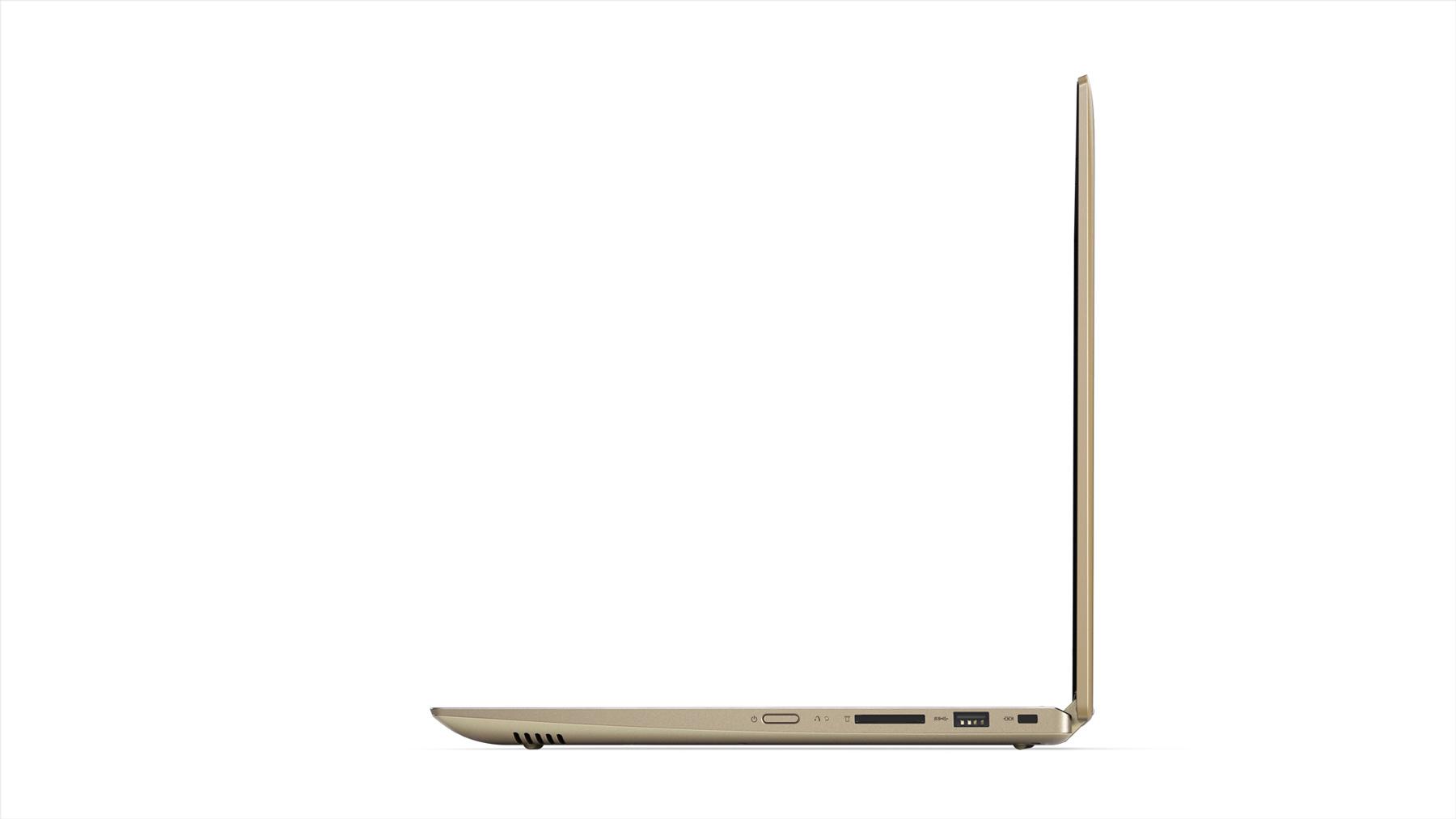 Фото  Ультрабук Lenovo Yoga 520 Gold Metallic (81C800DBRA)