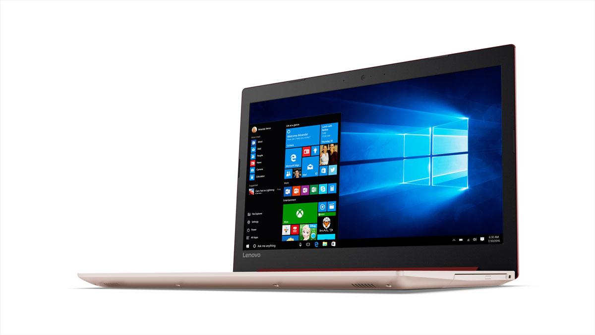 Фото  Ноутбук Lenovo ideapad 320-15 CORAL RED (80XH00WARA)