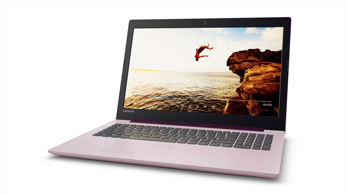 Фото  Ноутбук Lenovo ideapad 320-15 PLUM PURPLE (80XH00WDRA)