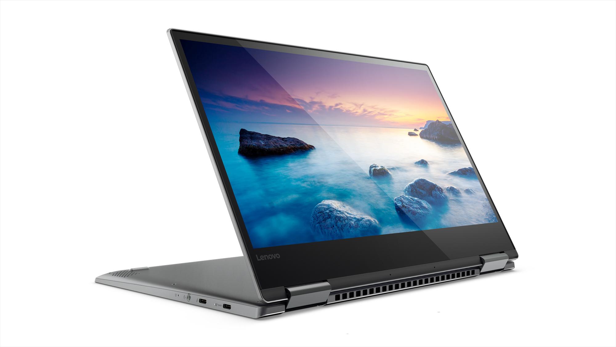 Фото  Ультрабук Lenovo Yoga 720 Iron Grey (81C300A1RA)