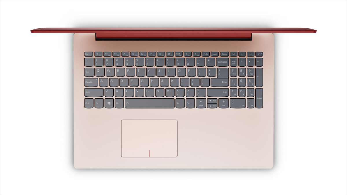Фото  Ноутбук Lenovo ideapad 320-15 CORAL RED (80XL03HPRA)