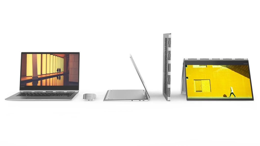 Фото  Ультрабук Lenovo Yoga 920 Vibes (Glass) Platinum (80Y8003XRA)