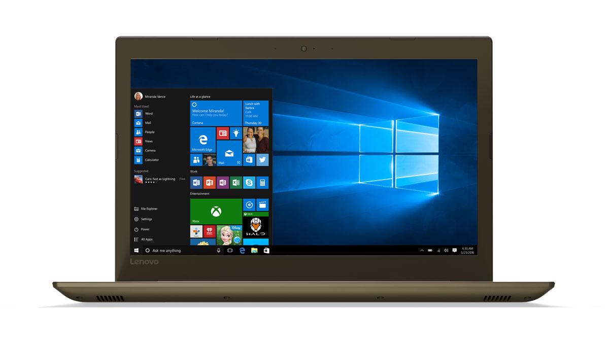 Фото  Ноутбук Lenovo ideapad 520-15IKB Bronze (81BF00ENRA)