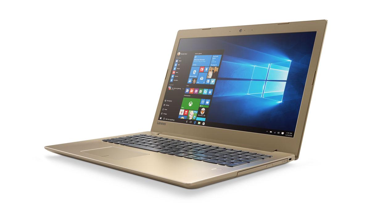 Фото  Ноутбук Lenovo ideapad 520-15IKB Golden (81BF00EPRA)