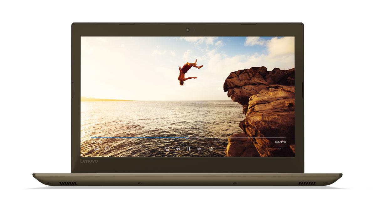 Фото  Ноутбук Lenovo ideapad 520-15IKB Bronze (80YL00LERA)