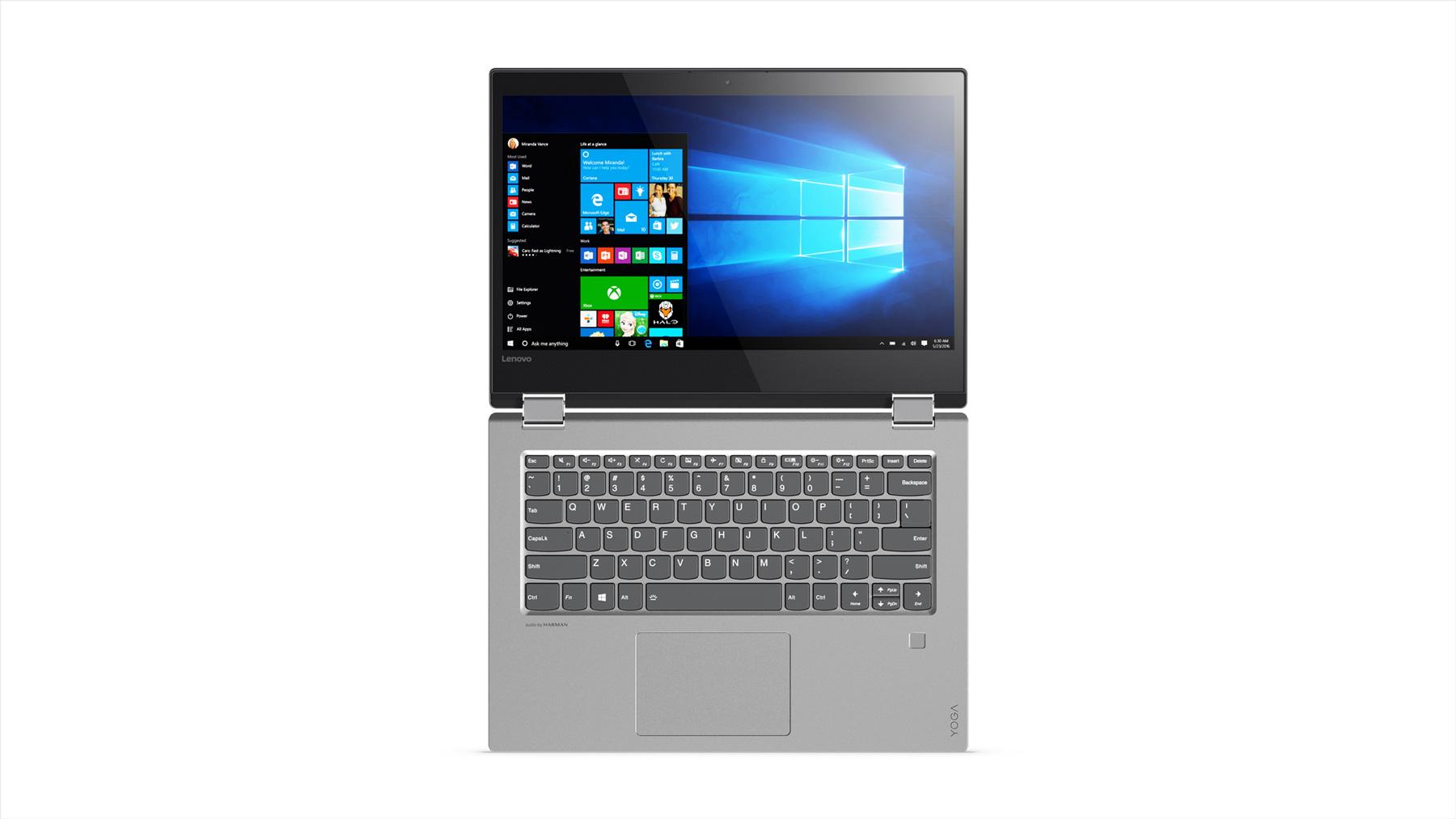 Фото  Ультрабук Lenovo Yoga 520  Mineral Grey (81C800D9RA)