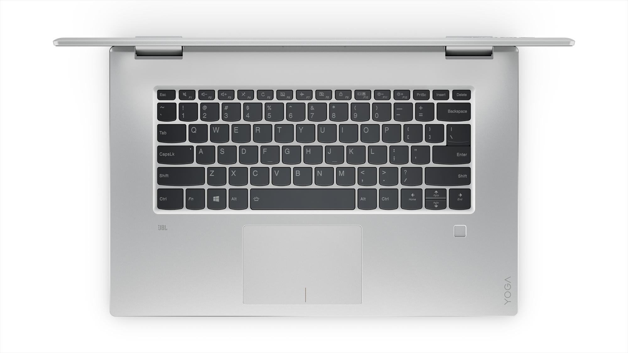 Фото  Ультрабук Lenovo Yoga 720-15IKB Platinum (80X700B5RU)