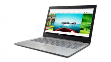 Фото 0 Ноутбук Lenovo ideapad 320-15 PLATINUM GREY (80XR013GRA)