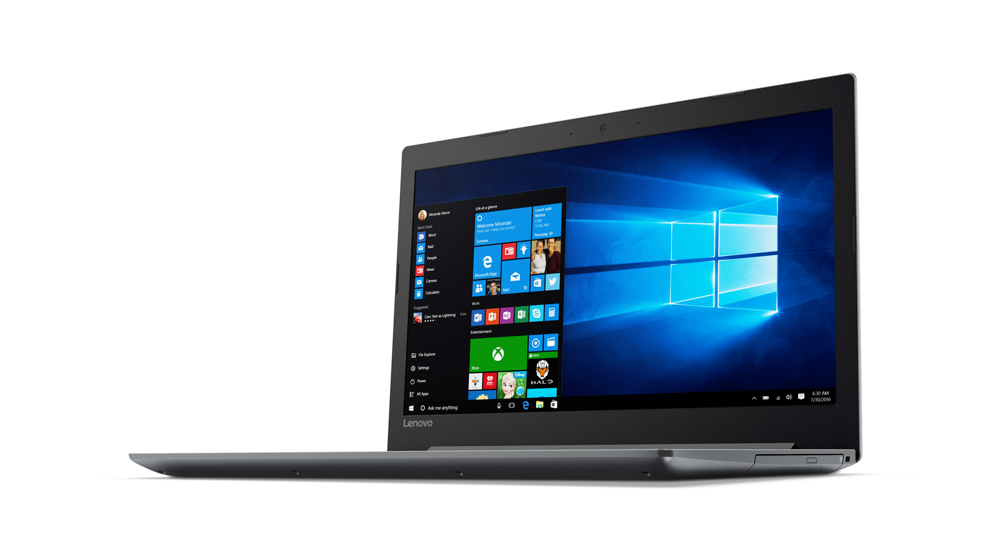 Фото  Ноутбук Lenovo ideapad 320-15 PLATINUM GREY (80XR013GRA)