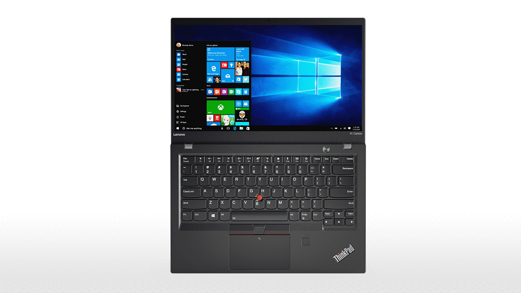 Фото  Ультрабук ThinkPad X1 Carbon 5th Gen (20HQS4UW00)