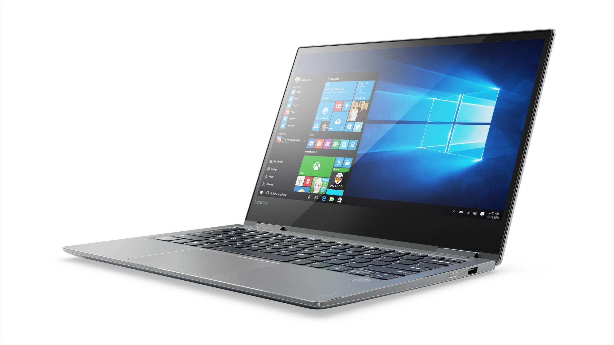 Фото  Ультрабук Lenovo Yoga 720 Iron Grey (81C300A2RA)