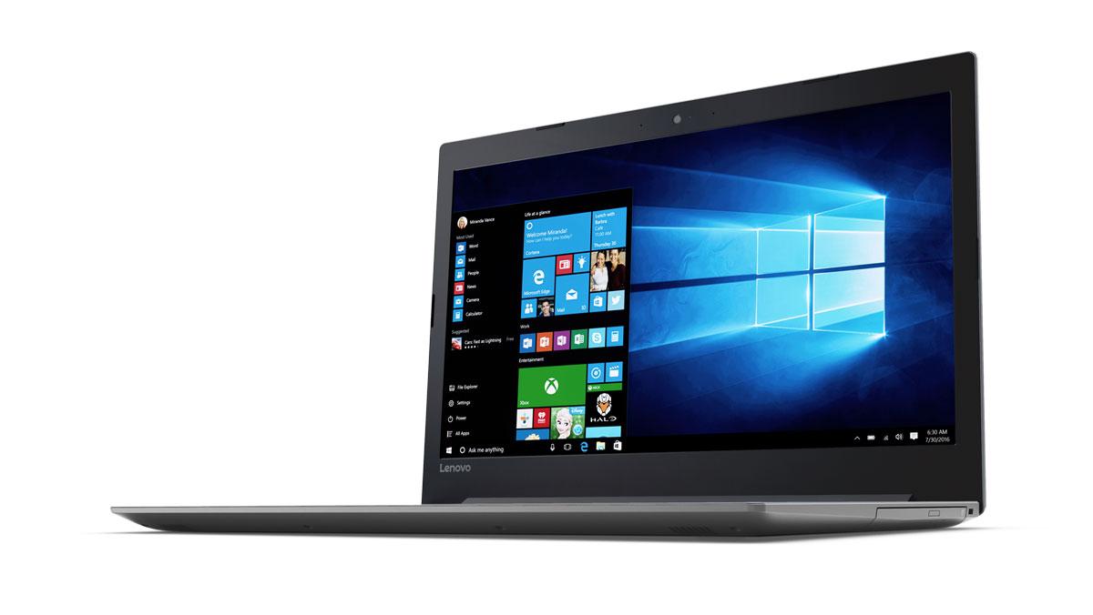 Фото  Ноутбук Lenovo ideapad 320-17IKB Platinum Grey (81BJ003KRA)