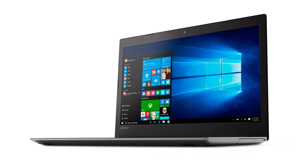 Фото  Ноутбук Lenovo ideapad 320-17IKB Onyx Black (81BJ003HRA)