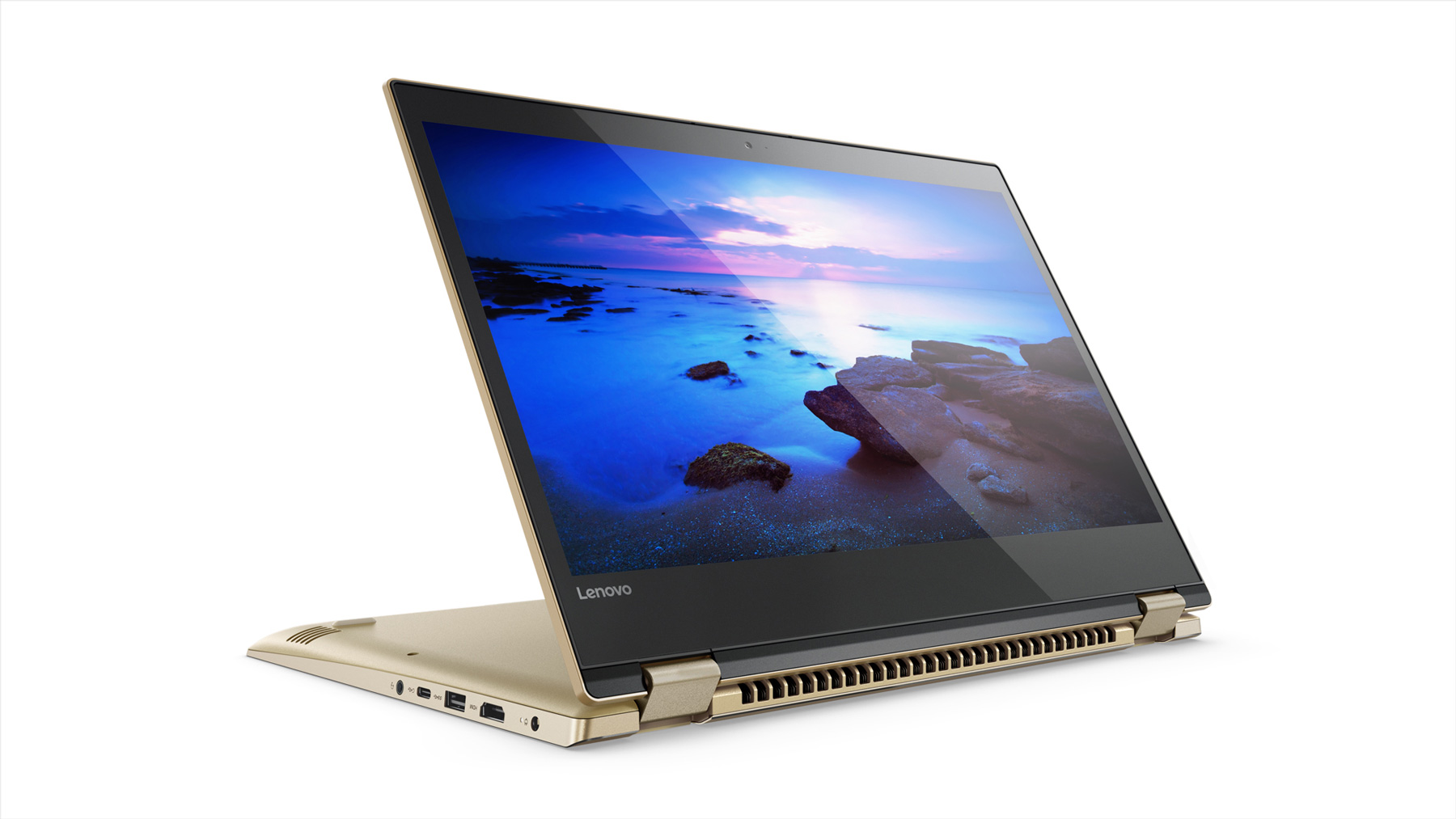Фото  Ультрабук Lenovo Yoga 520 Gold Metallic (81C800F8RA)